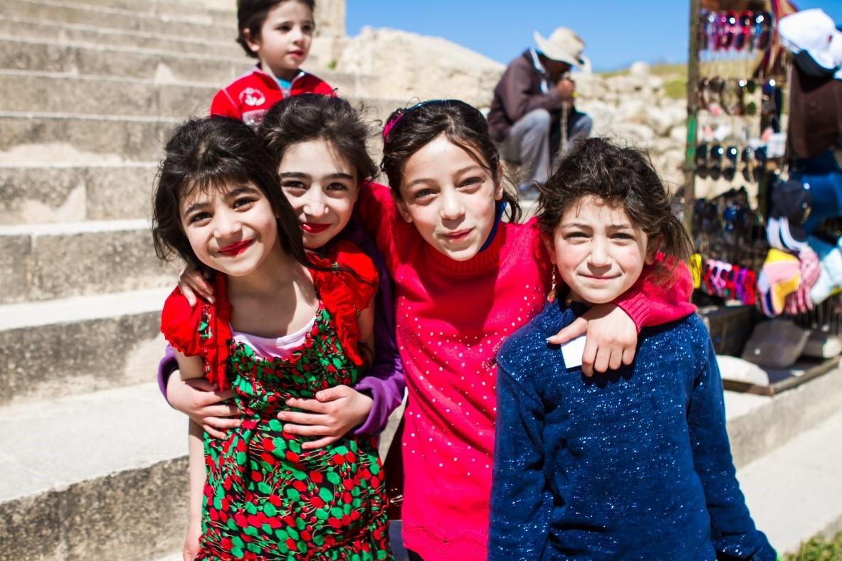 Young Jordanian Girls