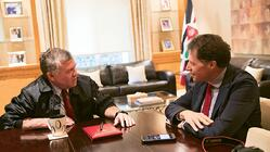 The King of Jordan Talks Tourism with Travel Weekly Editor in Chief