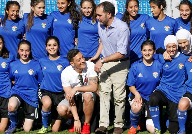 Jordan Girls U-17 Soccer Team