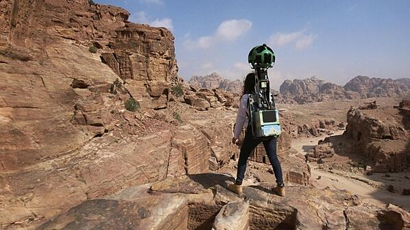 Discover Petra Like Never Before On Google Maps